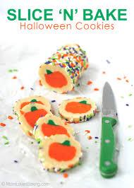 slice u0027n u0027 bake halloween cookies i dig pinterest