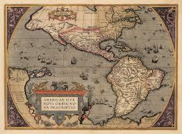 Nova Map 1598 Americae Sive Novi Orbis Nova Descriptio U2013 Hjbmaps Com