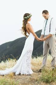 Outdoor Wedding Dresses Bridal Gown Designers Bohemian Wedding Dress With Side Split