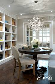 Dining Room Chandeliers Best Dining Rooms Images On Beautiful Homes Round Chandelier