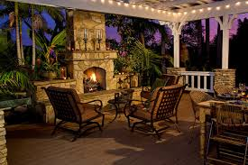 elegant outdoor fireplace at outdoor patio fireplace ideas on home
