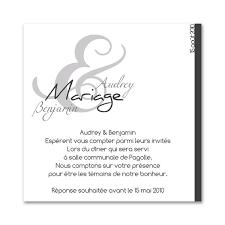 carte mariage texte invitation mariage chic par faire part mariage