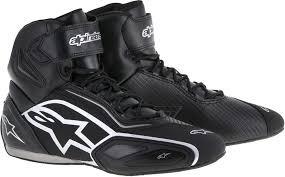 alpinestars tech 8 light boots alpinestars faster 2 shoes boots motorcycle black silver