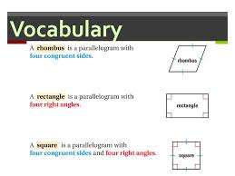 A Rectangle Is A Parallelogram With A Right Interior Angle 6 3 Showing Quadrilaterals Are Parallelograms We Can Use The