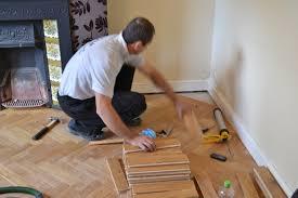 Laminate Flooring Skirting Board Trim Oak Parquet Flooring Natural Oiled 3 Oak