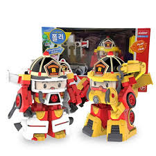 robocar poli roy roi space fireman pack 4 mode change