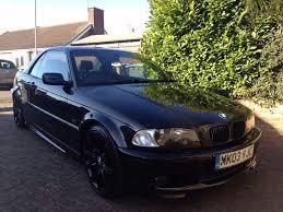 bmw 330ci convertible m sport black auto petrol in luton