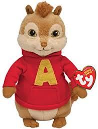 amazon ty beanie baby brittany alvin chipmunks toys