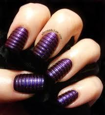 deep purple nail designs gallery nail art designs