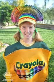 crayon halloween costume pattern costume model ideas