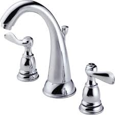 Two Handle Widespread Lavatory Faucet Delta Windemere Widespread Lavatory Faucet Chrome Two Handle With