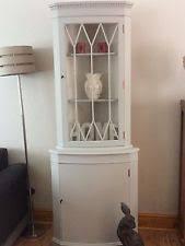 Shabby Chic Corner Cabinet by Corner Display Cabinet Cabinets U0026 Cupboards Ebay