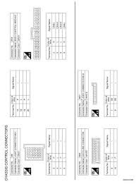 nissan rogue service manual wiring diagram chassis control