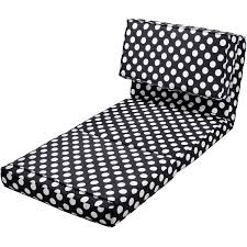 Folding Foam Chair Bed Your Zone Flip Chair Available In Multiple Colors Walmart Com