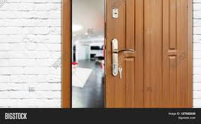 half opened door living room door image u0026 photo bigstock