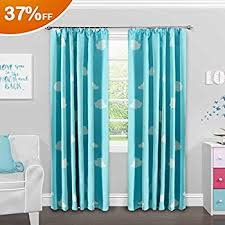 Rainbow Curtains Childrens Fadfay Romantic Rainbow Blackout Curtains Brand Childrens