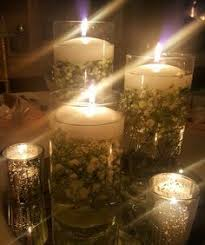 Vase And Candle Centerpieces by Very Pretty Centerpiece Using Our Cylinder Vases Floating Candles
