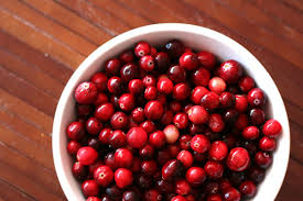 this week for dinner thanksgiving prep cranberries in