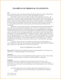 Resume Personal Statement Example by Resume Personal Statement Examples Free Resume Example And