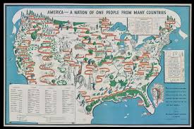 World Map 1940 by 1940 Map Depicts America As A Nation Of Immigrants