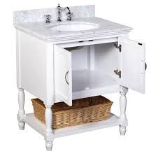 kitchen bath collection vanities kitchen bath collection kbc1130wtcarr amelia bathroom vanity set
