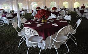 tent table and chair rentals ebb tide tent party rentals tables chairs floors linens