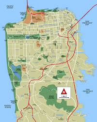 San Francisco Districts Map by Maps U2014 San Francisco Bay Area Sfgate