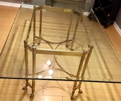 Brass Dining Table Vintage Labarge Brass Dining Table For Sale In Inglewood Ca