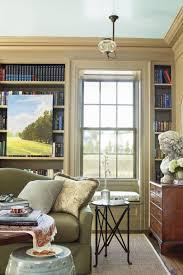 Bookcase Wall Senoia Georgia Idea House Tour Southern Living