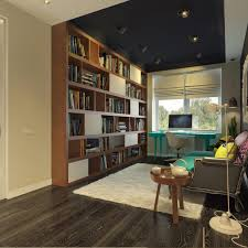 home office colors pop art style apartment decorating cacophony of color