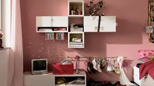 bedroom cozy white laminate mounted cabinet on the pink paint mesmerizing and colorful tween girls bedroom ideas cozy white laminate mounted cabinet on the pink