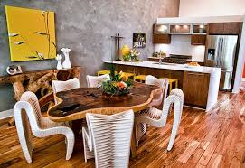 unique kitchen table ideas 11 trendy ideas that bring gray and yellow to the kitchen