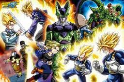android 18 and cell ju nana gou android 17 ju hachi gou android