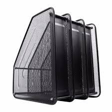 Desktop Resume Metal Mesh Desktop Basket Resume File Folder Holders Detachable
