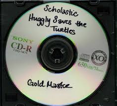109 16719 huggly saves the turtles gold master video game