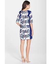 french connection bonita floral stripe shift dress where to buy