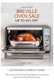 sur la table hours breville smart oven sale milled