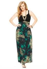 plus size peacock print maxi dress plus size dresses roamans