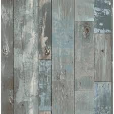 wood wallpaper a street deena blue distressed wood wallpaper sle 2540 24053sam