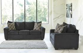 Ashley Wixon Slate Living Room Sofa U0026 Loveseat Set Orange County