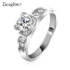 aliexpress buy beagloer new arrival ring gold aliexpress buy free shipping asian wedding rings gold