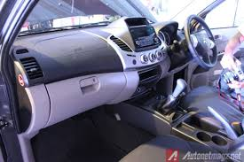 mitsubishi expander interior new mitsubishi strada triton hi power version officially launched