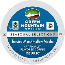 keurig green mountain email format green mountain toasted marshmallow mocha keurig k cup pods 24