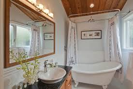 clawfoot tub bathroom design ideas large ceiling clawfoot tub shower curtain tips installing
