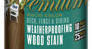 behr reformulates weatherproofing wood stains and finshes to offer