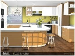Urban Myth Kitchen - sims 4 kitchen sets