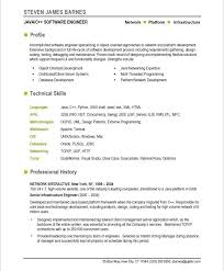 It Job Resume Samples by It Professional Resume Samples Free Download