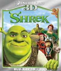 shrek dvd release