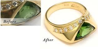 sizing gold rings images Santa barbara jewelry repair and ring resizing png