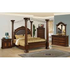 king poster bedroom set myco furniture juliet 3 piece eastern king poster bedroom set